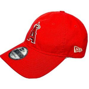 Los Angeles Angels Hat New Era Cap Adjustable Red